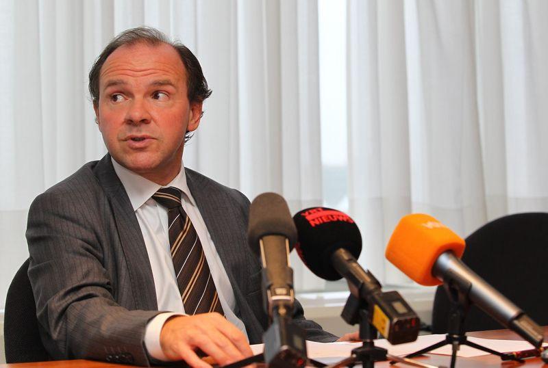 Vlaams minister van Ruimtelijke Ordening Philippe Muyters.