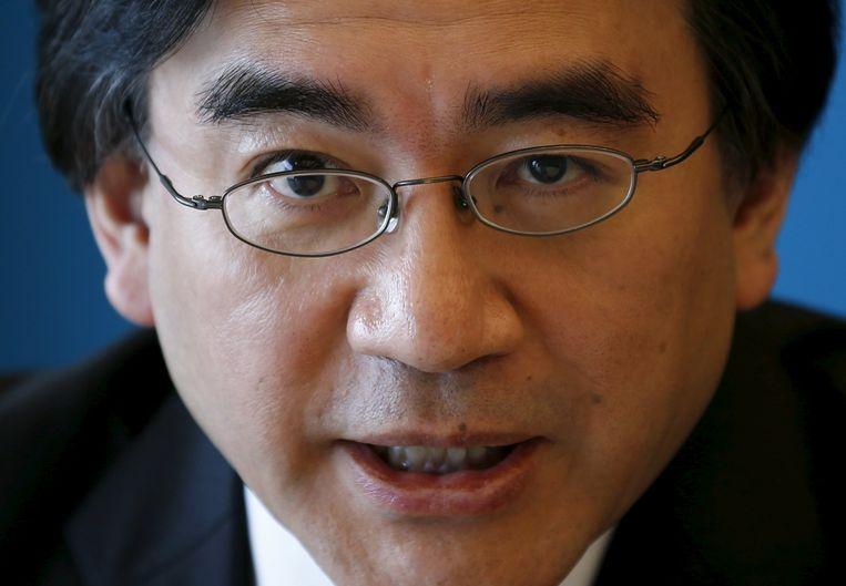 Satoru Iwata Beeld reuters