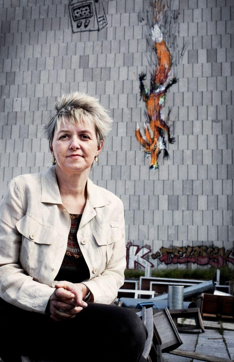 Béatrice Delvaux. Beeld Tim Dirven
