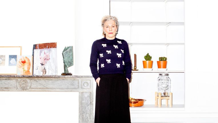 Mizzi van der Pluijm: 'Ik ben erg vóór traditie, die is er niet voor niets.' Beeld Marie Wanders