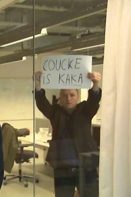 """""""Coucke, c'est du caca"""": une séquence satirique avec Wouter Vandenhaute refait surface"""