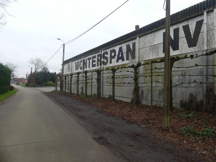 De firma Wonterspan in de Dosweg.