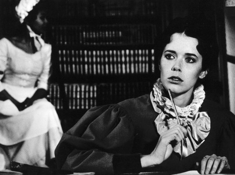 Een filmstill van de Franse film Une femme fédele, onder regie van Roger Vadim, Parijs 1976. Beeld null