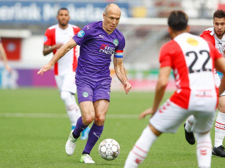 LIVE | FC Groningen met Robben op voorsprong in Emmen