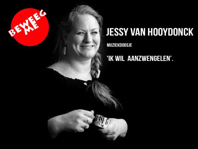Jessy van Hooydonck wil muziek in de politiek brengen