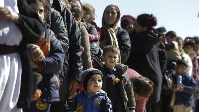 Vrouwen en kinderen van de Jezidigemeenschap in Syrië en Noord-Irak gaan massaal op de vlucht voor de terreur van de IS.