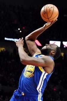Golden State Warriors nog één zege af van NBA-finale
