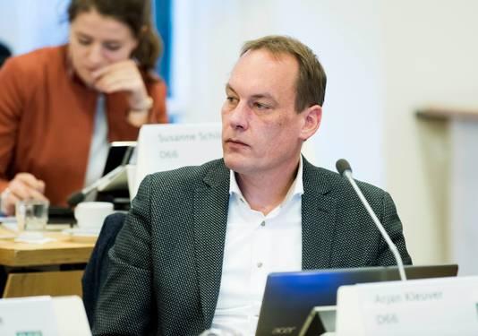 D66-raadslid Arjan Kleuver