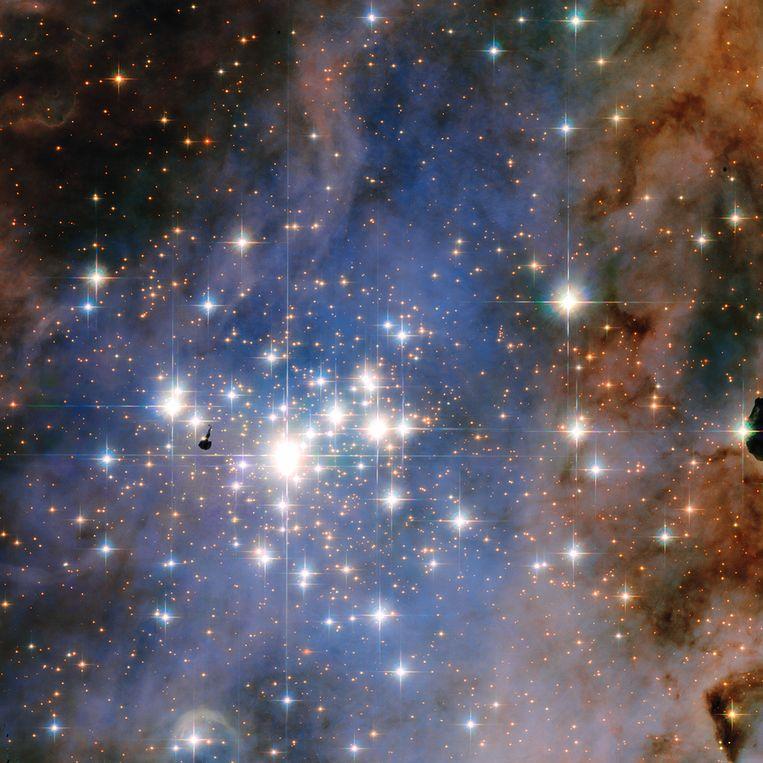 null Beeld  NASA/ESA/J. Maíz Apellániz