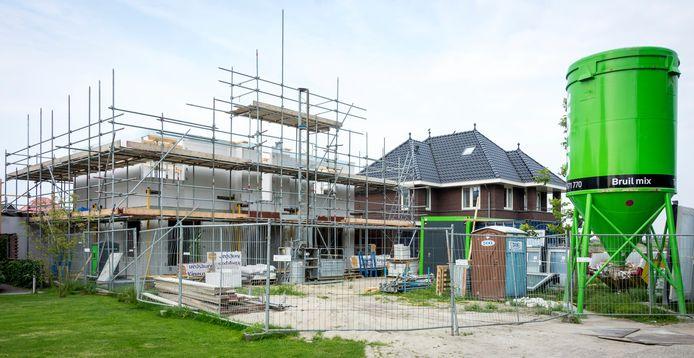 Nieuwbouw in Pijnacker.