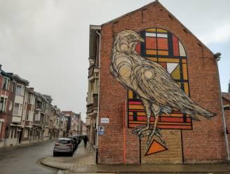 Slechtvalk van Dzia strandt op plaats 2 in top 100 beste Belgische street art