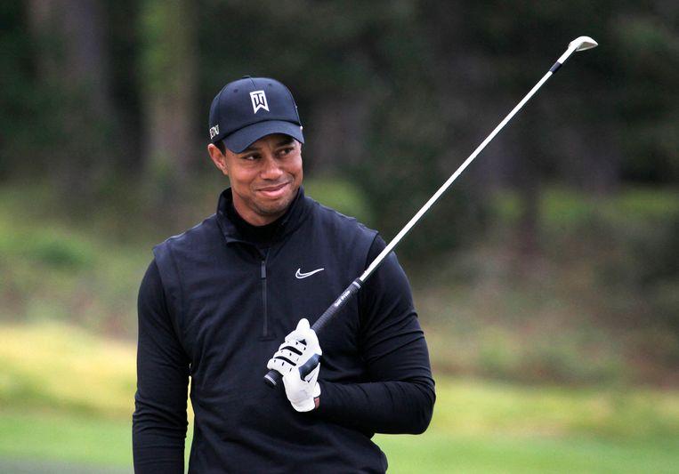 Tiger Woods Beeld Belga Image