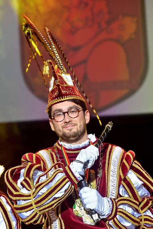 Nijmegen/Nederland: Prins Carnaval Mark Buck, CDA raadslidDgfotofoto: Bert Beelen