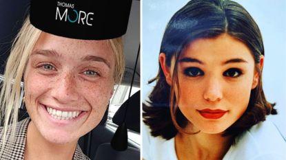 SHOWBITS. Julie Vermeire is afgestudeerd en Evi Hanssen blikt terug op haar tienerjaren