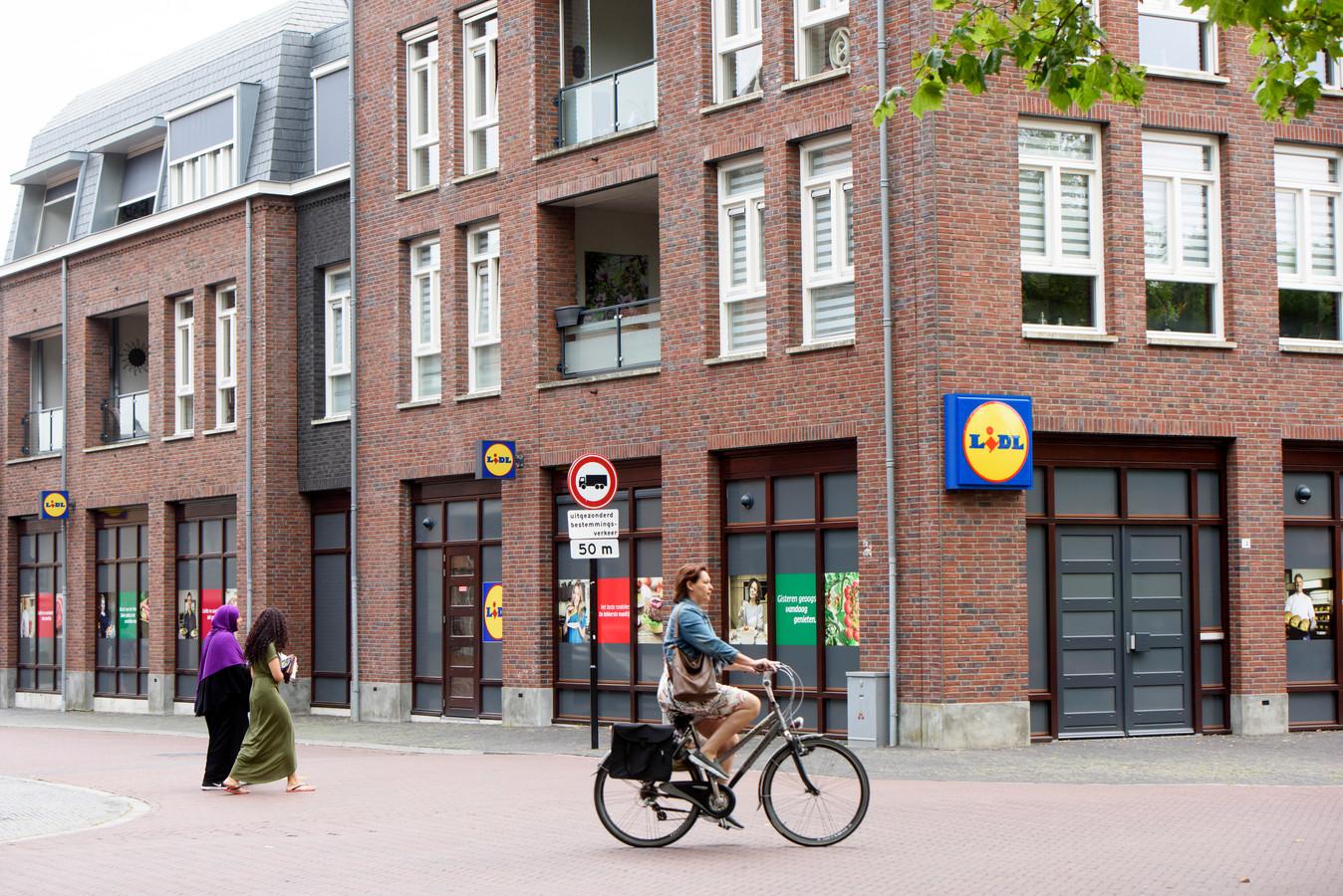 EERSEL - Komst nieuw Lidl in Nieuwstraat