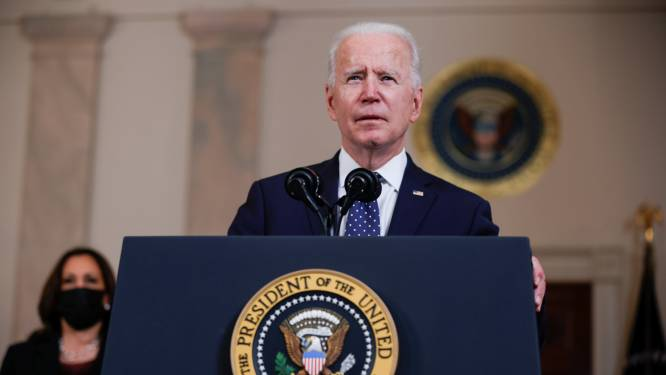 """President Biden: """"Grote stap voorwaarts in mars naar gerechtigheid in de VS"""""""