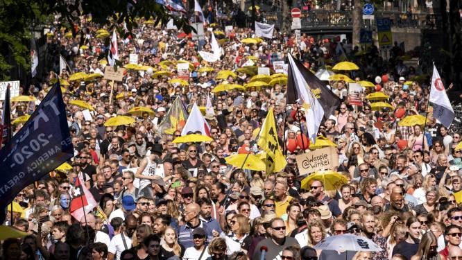 Jodenster bij coronaprotest? 'Het is niet eens een vergelijking, het komt niet in de buurt'