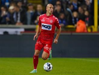 """Gilles Dewaele begrijpt niet dat KV Kortrijk geen strafschop kreeg: """"Ik snap niet dat dit geen penalty is en die tegen Zulte Waregem wel"""""""