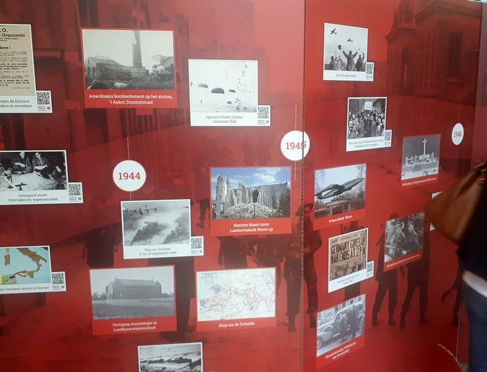 Indrukwekkende verhalen tijdens opening expositie 'Verhalen van Oorlog en Vrijheid'  in Tongerlohuys Foto Alfred de Bruin