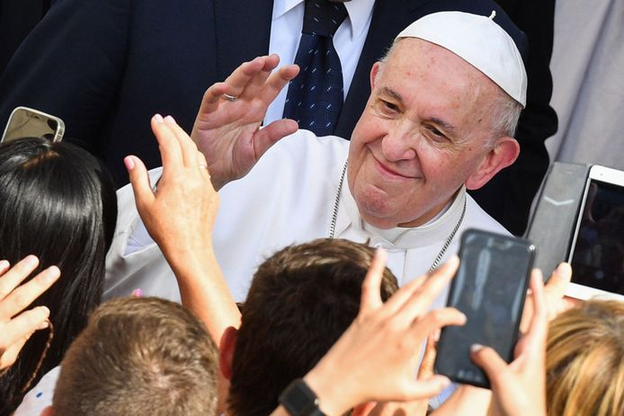 Paus Fransiscus (16 jun 2021,Tiziana Fabi / AFP)