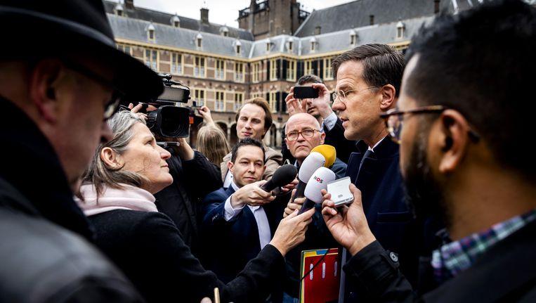 Nederlands premier Mark Rutte. Beeld anp