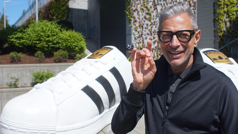 Jeff Goldblum onderzoekt allerlei alledaagse fenomenen. Zoals dure sneakers en roomijssmaken. Beeld NGC