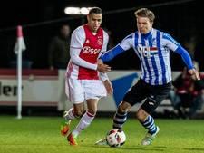 FC Eindhoven pakt puntje bij periodekampioen Jong Ajax