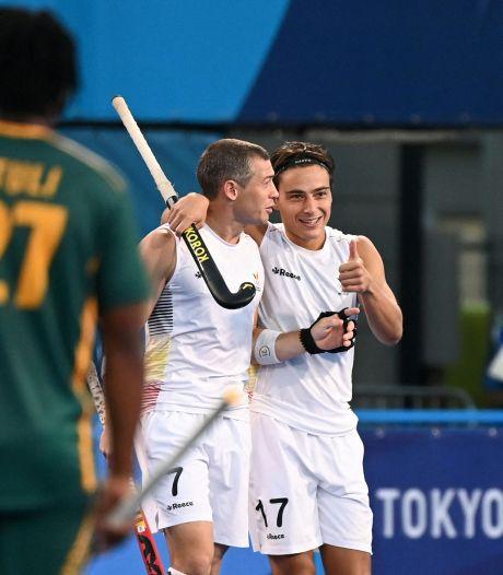 Pluie de buts contre l'Afrique du Sud: trois sur trois pour les Red Lions