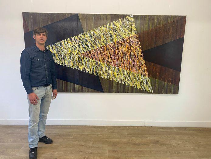 Kunstenaar Dieter f Mertens