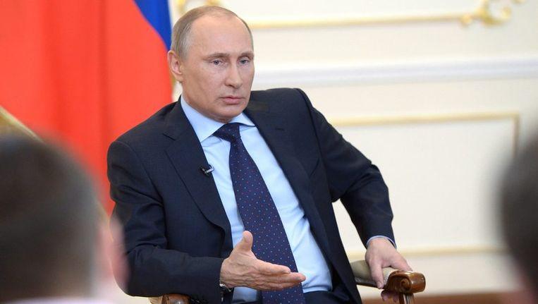 De Russische president Vladimir Poetin. Beeld epa