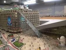 Trap bij Rotterdam CS nu al te zien: in miniatuurversie