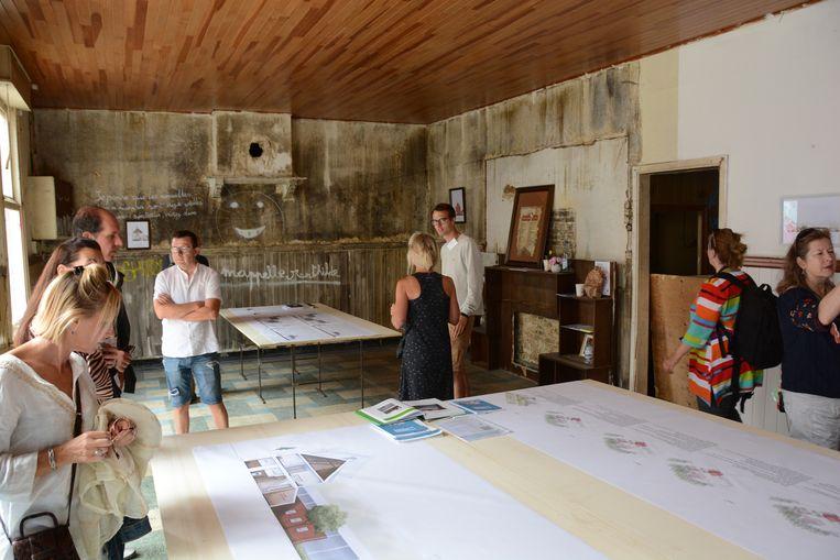 De faculteit architectuur van de KU Leuven stelde zondag haar plannen voor die ze in Doel wil realiseren.