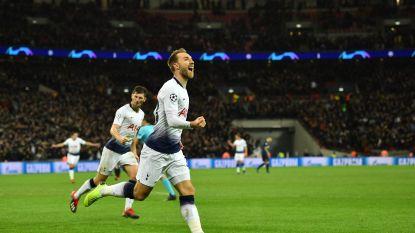 Tottenham grijpt laatste strohalm tegen Inter, dat Radja Nainggolan op slag van rust verloor met blessure
