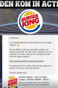 Uden flirt met Burger King: kom naar het centrum