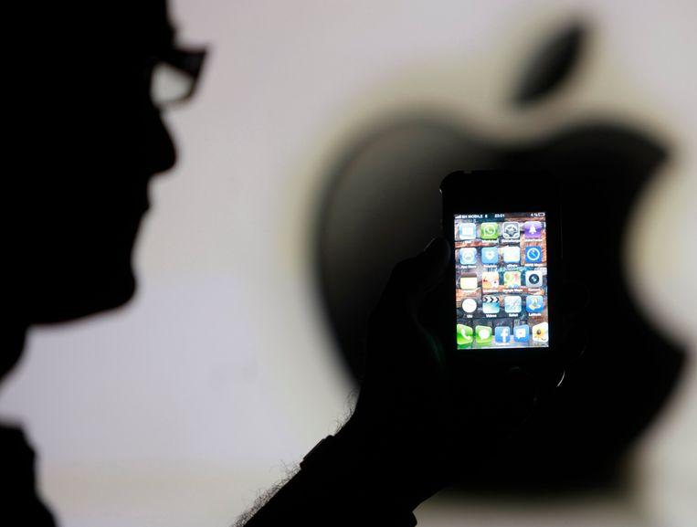De iPhone 4 zal niet langer kunnen updaten. Beeld REUTERS