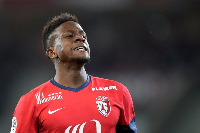 De 19-jarige Divock Origi, aanvaller van Lille.
