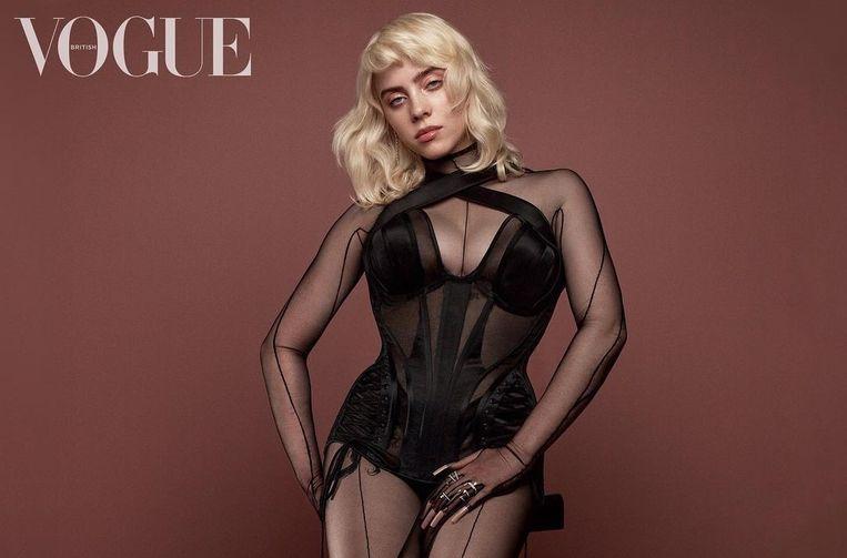 De veelbesproken fotoreeks in 'Vogue' van superster Billie Eilish. Beeld Vogue