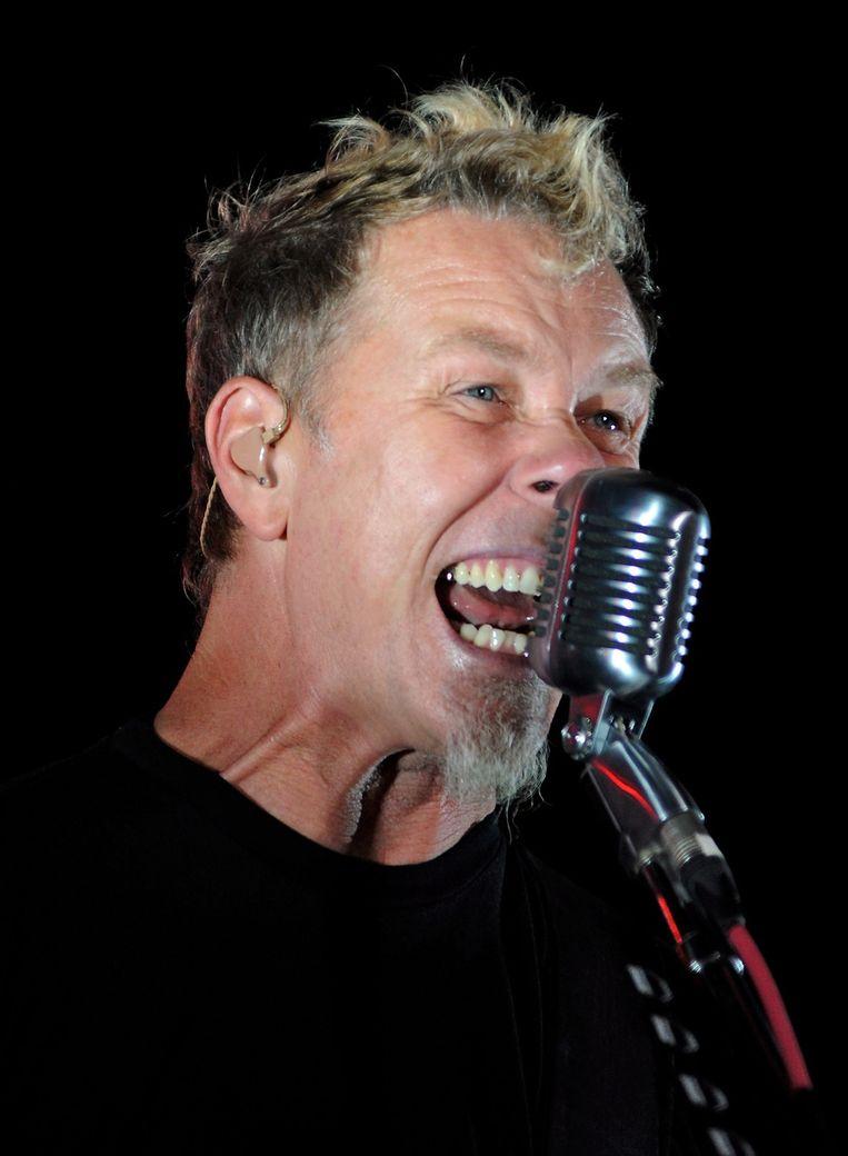 Metallica-zanger James Hetfield Beeld ap