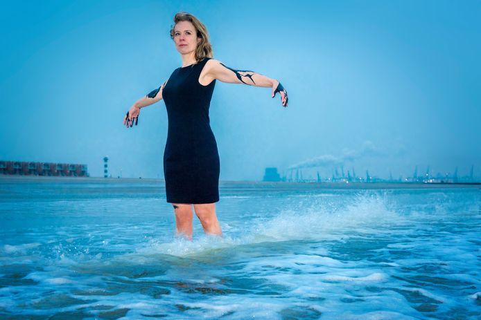 Klimaatactiviste Femke Sleegers: ,,Ik merkte dat de media en de politiek veel te weinig aandacht hadden voor het klimaat. Dat de overheid kennelijk niet per se het beste met ons voor heeft.