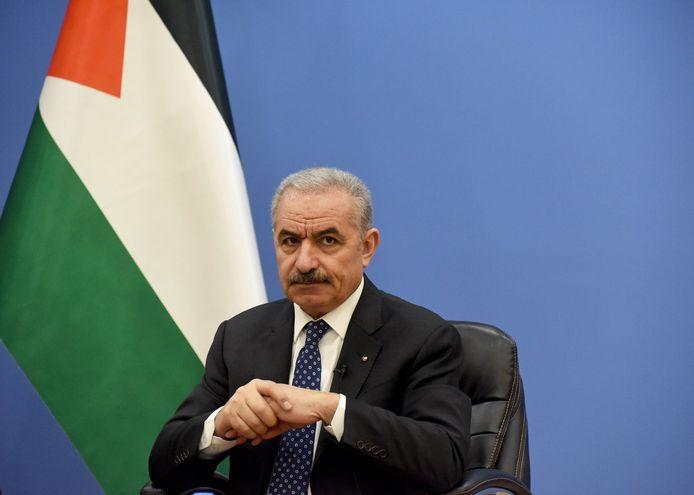 Le Premier ministre palestinien Mohammed Shtayyeh