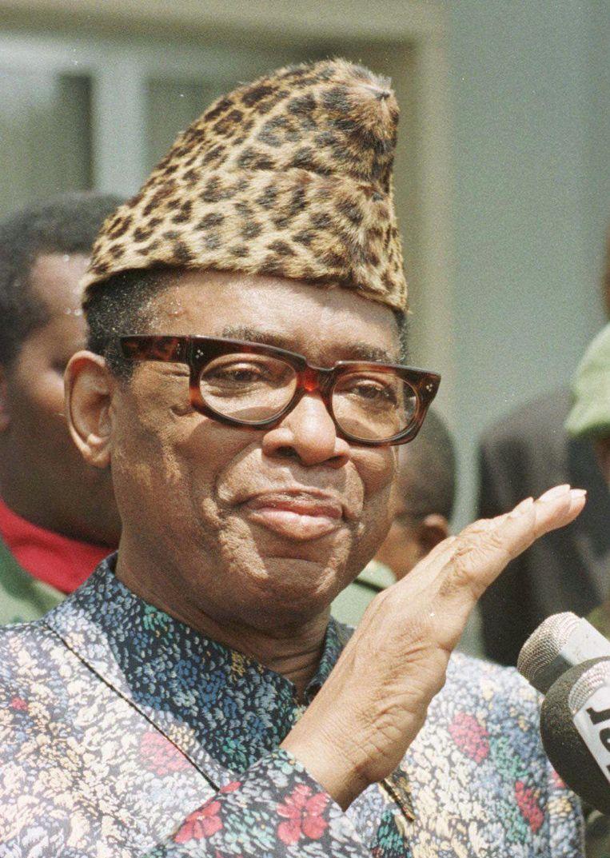 Mobutu Sese Seko (Democratische Republiek Congo/Zaïre) Beeld ap
