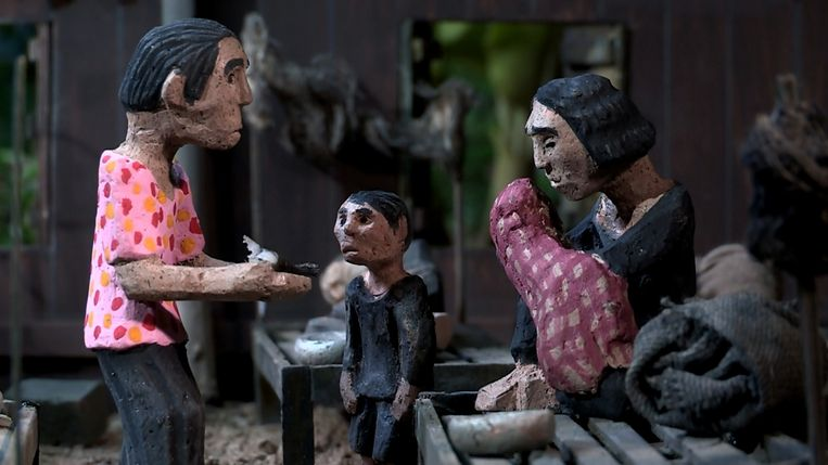 Beeld uit The Missing Picture van Rithy Panh. Beeld filmdepot