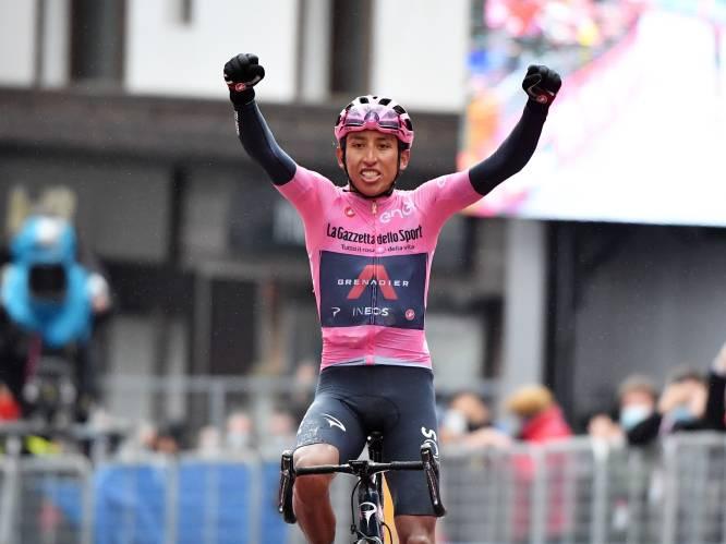 Ontketende Bernal zet Giro helemaal naar zijn hand en is in onthoofde en uitgeregende koninginnenrit klasse beter dan de rest