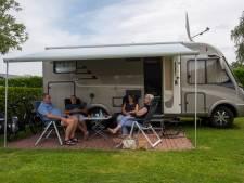 Het campingleven op 1,5 meter: 'Je komt zo wel weer eens ergens anders'