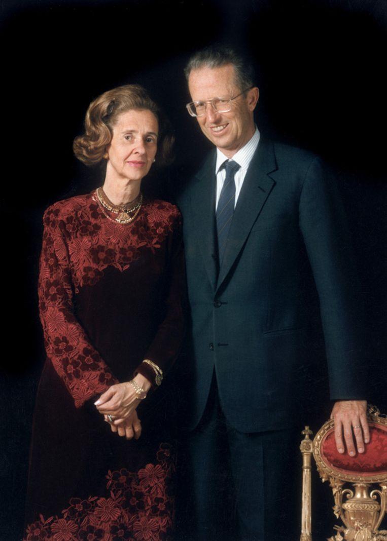Koningin Fabiola (1928-2014) en koning Boudewijn (1930-1993). Beeld RV