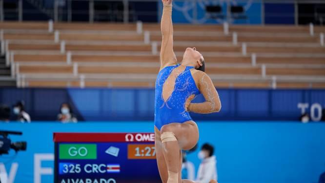 Costa Ricaanse gymnaste brengt hulde aan Black Lives Matter-beweging