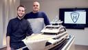 De boot van de Lego Masters Corneel en Björn.