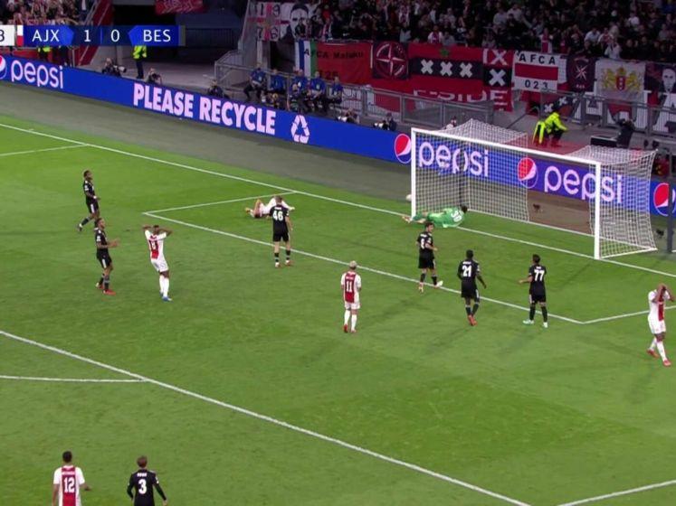 Ajax zonder problemen langs Besiktas in kolkende Johan Cruijff Arena