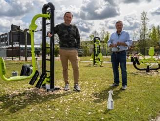Outdoor fitness kan voortaan ook op sportsite De Pit