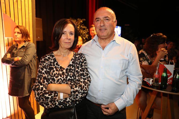 Mariette en Christos, de ouders van Fabrizio, konden vandaag niet ontbreken. Fabrizio brengt vanavond een dans ter ere van z'n papa. 'Ik heb een zakdoekje bij als hij het moeilijk krijg', lacht Mariette.